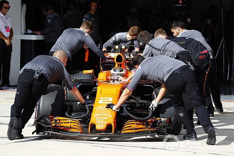 McLaren: Alonso e Vandoorne sostituiscono il motore Honda