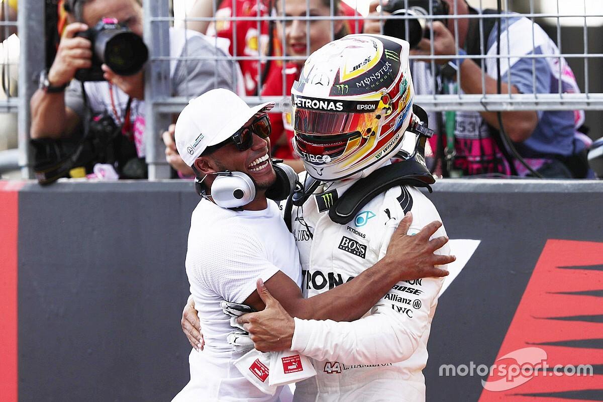El hermano de Hamilton recuerda cómo Lewis lo ayudó con el 'bullying'