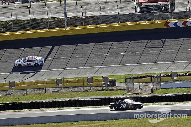 """Truex on Charlotte Roval test: """"All kinds of craziness going on"""""""