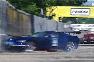 VÍDEO: Pace Car bate no muro em prova da Indy
