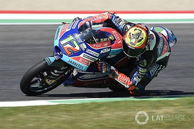 Moto3 Barcelona: Bezzecchi voor Kornfeil in tweede training
