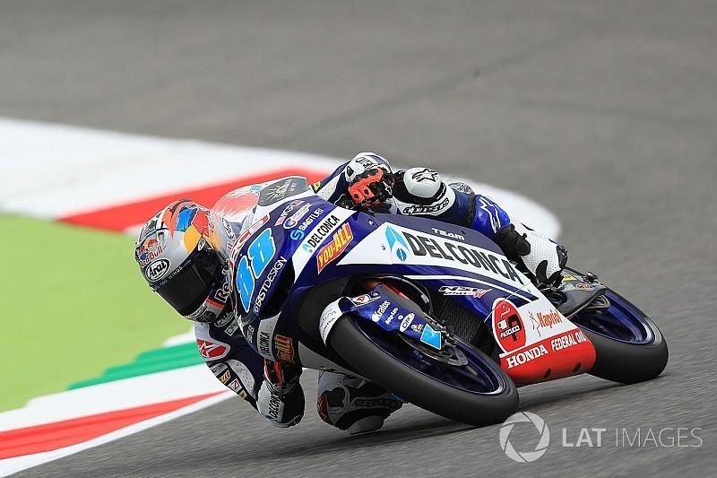 Moto3 Mugello: Martin andermaal aan kop, Kornfeil krijgt presentje van Herlings