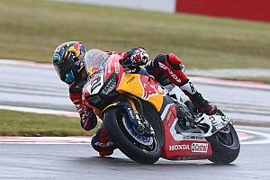 Injured Camier unsure if he'll race at Donington
