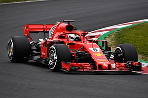 Formula 1 Testing report Vettel puts Ferrari on top on second day of testing