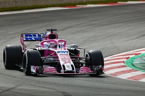 Fotogallery: le foto più belle della Force India VJM11 a Barcellona