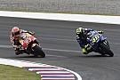 MotoGP Rossi aún no quiere hablar con Márquez