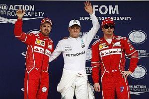 Brazilian GP: Bottas beats Vettel to pole, Hamilton last