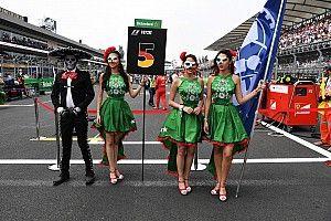 F1安排儿童替换发车区女郎
