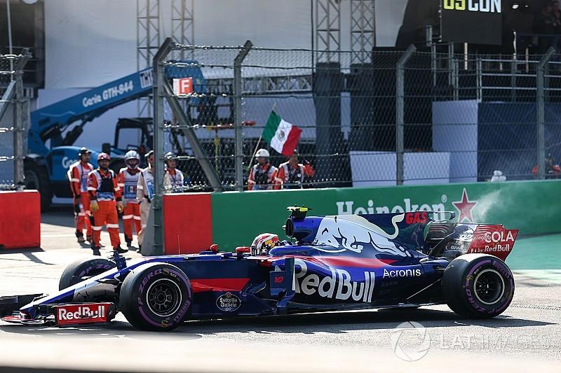 غاسلي يشعر بأنّه غير مستعد على الإطلاق لسباق المكسيك بعد تغيّبه عن التصفيات