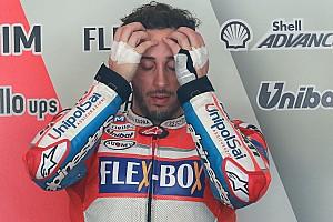 MotoGP Reactions Terjatuh, Dovizioso: Saya telah melampaui batas