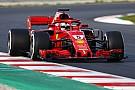 Test Barcellona, Day 3 - Ore 13: Vettel getta la maschera della Ferrari