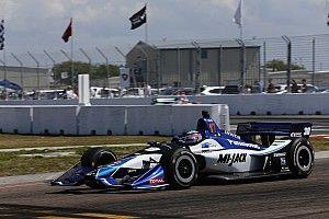佐藤琢磨、荒れたレースで接触され12位「こんな結果になって残念」