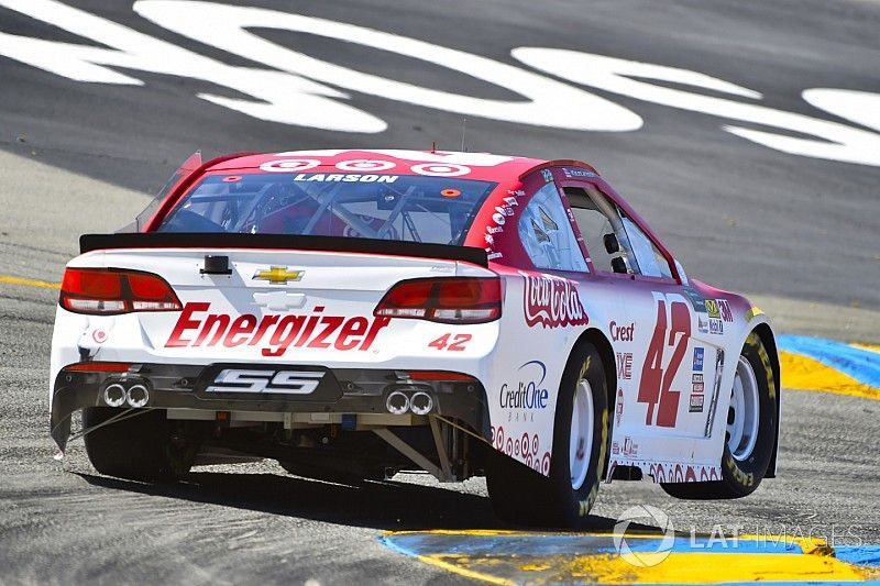 """Kyle Larson """"feels more comfortable"""" at road courses"""