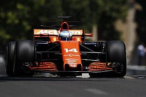 【F1】バクーFP2速報:好調フェルスタッペン連続首位。アロンソまたもトラブル
