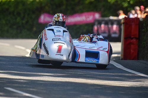 Birchall brothers top Isle of Man TT sidecar entry