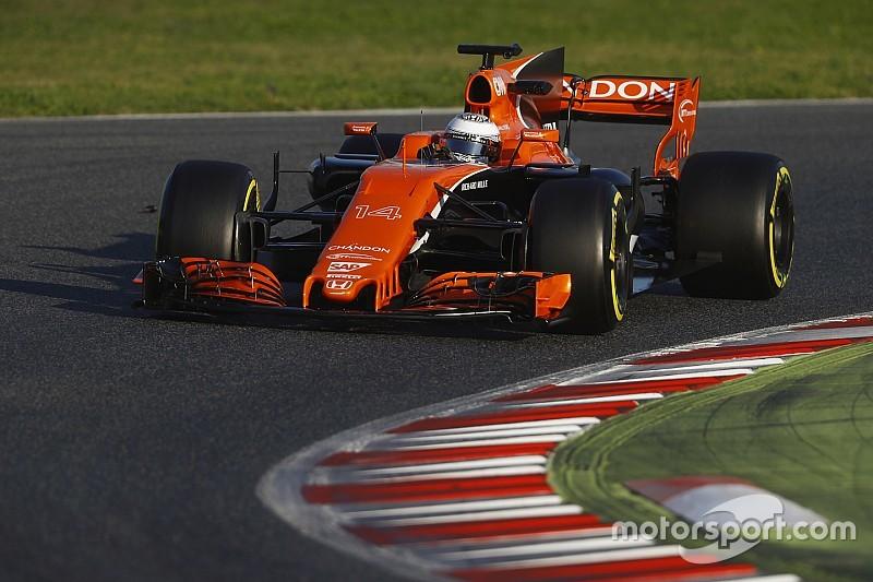 【F1】トラブル発生のアロンソ「幸運にも僕には経験がある」