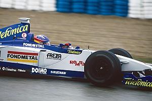 Retro: De eerste Formule 1-test van Fernando Alonso