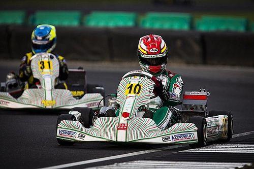 Hiltbrand y Vidales arrancan con buen pie el Mundial de karting