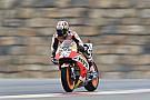 MotoGP Pedrosa, el más rápido el primer día en Aragón; Rossi, resiste