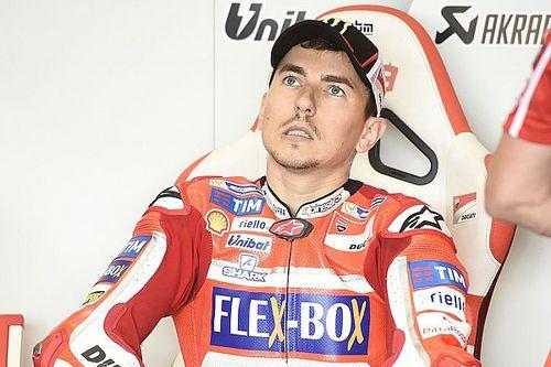 """Lorenzo: """"La moto non girava, ma il passo non era male"""""""