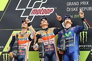 Brno MotoGP: Marquez akıllıca stratejisiyle kazandı