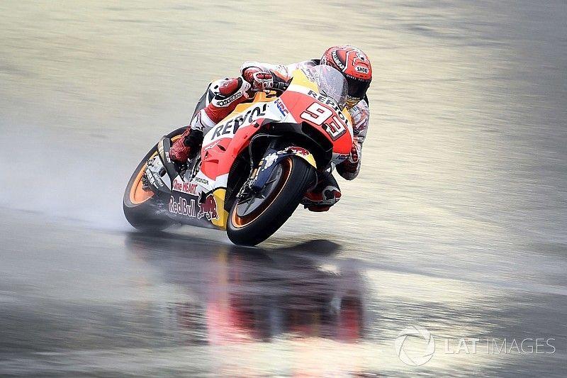 FP1 MotoGP Jepang: Marquez tampil dominan, Rossi terseok