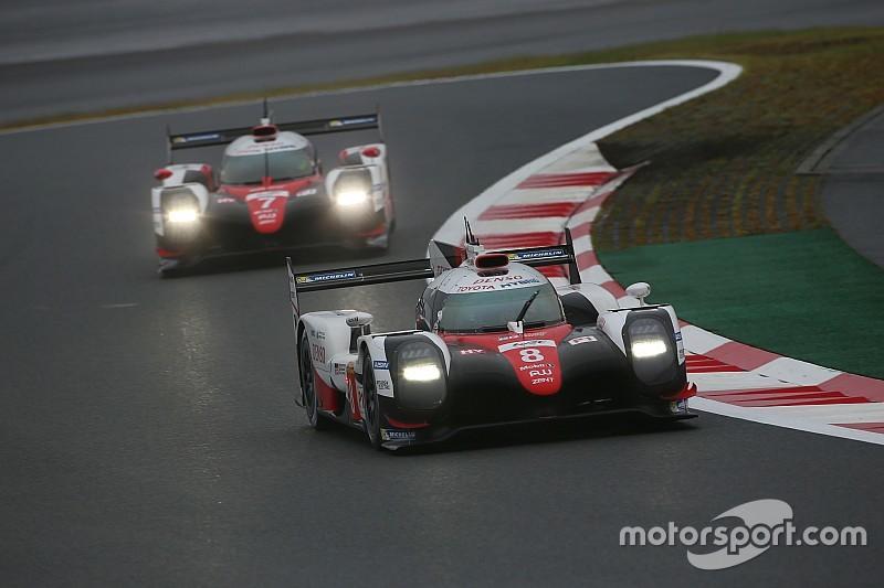 WEC Fuji: Toyota wint ingekorte race en houdt hoop op titel
