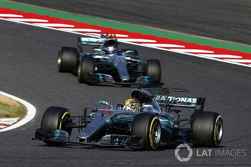 A Mercedesnek is gondja volt a gyújtógyertyával Suzukában