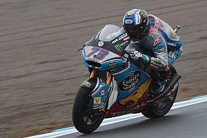 Marquez wint natte GP Japan, Morbidelli en Luthi komen tekort