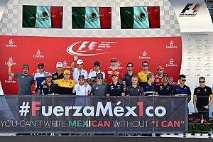 GALERÍA: pilotos se unen por #FuerzaMéx1co