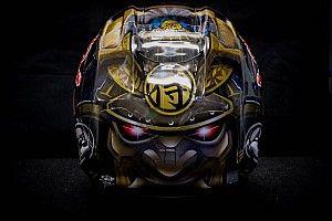 GALERIA: Inspirado em samurai, Pedrosa revela casco novo
