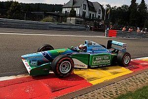 Fotogallery: Mick Schumacher sulla Benetton B194 di Michael a Spa