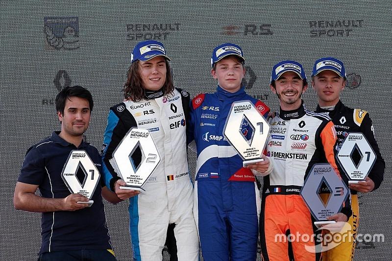 Eurocup Pau: Shwartzman dominasi Race 1, Presley P10 rookie