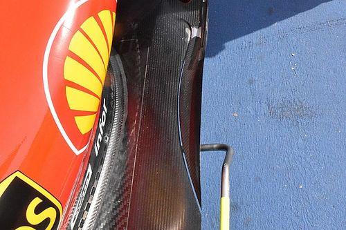 Ferrari: c'è un... coltello nel fondo innovativo della SF70H