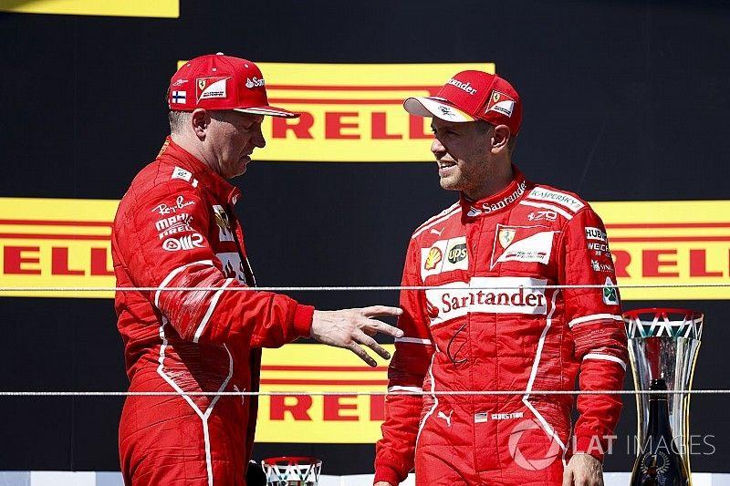 Vettel insists Ferrari has not used team orders in 2017