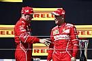 Vettel desmente uso de ordens de equipe em 2017