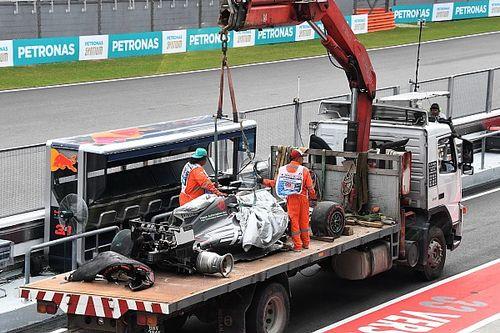 El accidente de Grosjean le trajo malos recuerdos a Massa