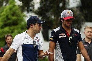 "Massa acusa a Sainz de haberle cerrado ""a propósito"""