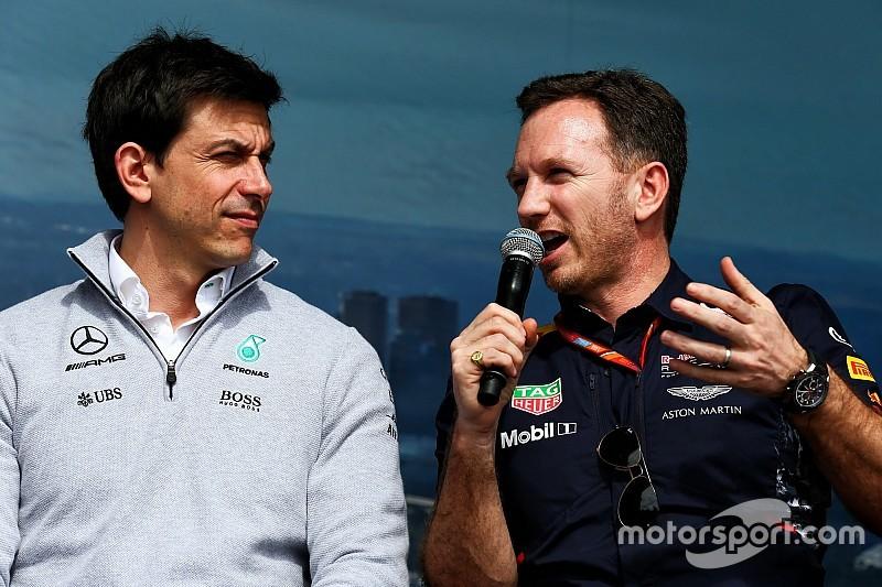 Horner lance un défi à Wolff lors des Autosport Awards