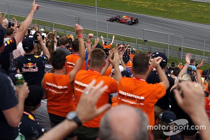 In beeld: Het oranjelegioen op de been voor Max Verstappen