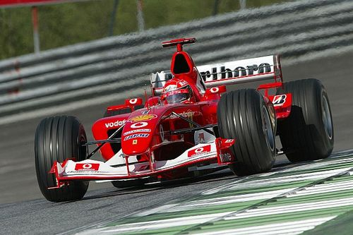Le mitiche Ferrari di F.1: F2003-GA la Rossa dedicata a Gianni Agnelli