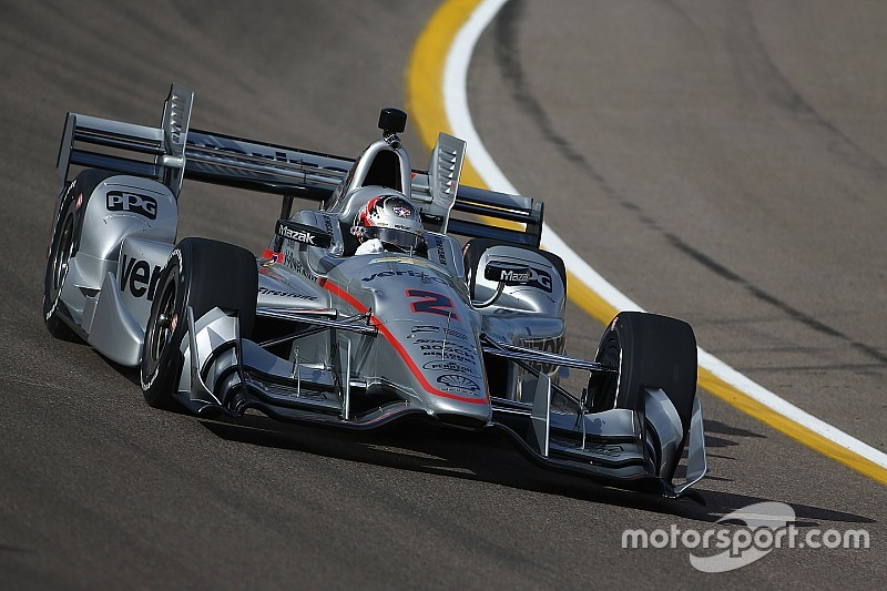 Newgarden puts Penske on top at 190mph