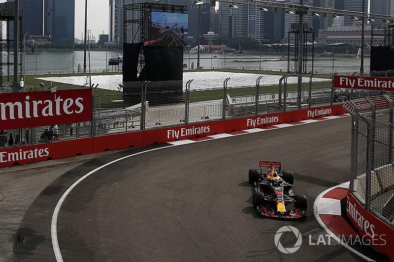 Singapore, Libere 1: Ricciardo davanti, Vettel secondo fra le due Red Bull