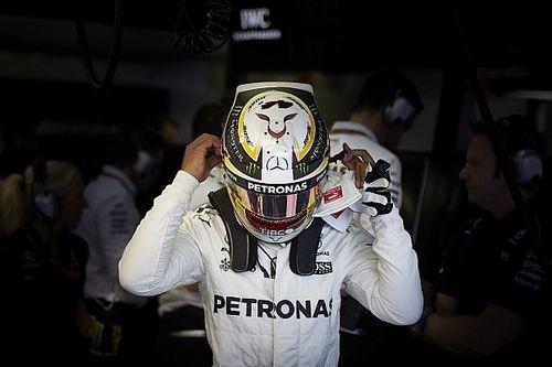"""Frustrado com 5º lugar, Hamilton diz: """"Será uma luta longa"""""""