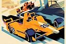 В McLaren сделали постер перед Гран При Монако и Indy 500