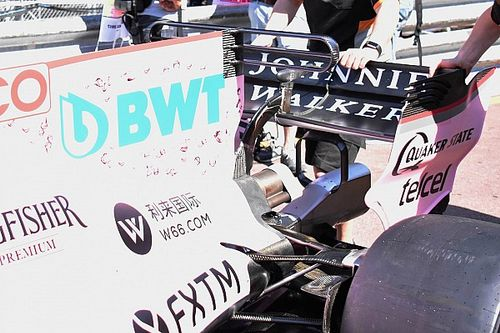 Formel 1 2017 in Monaco: Force India mit dreifachem T-Flügel