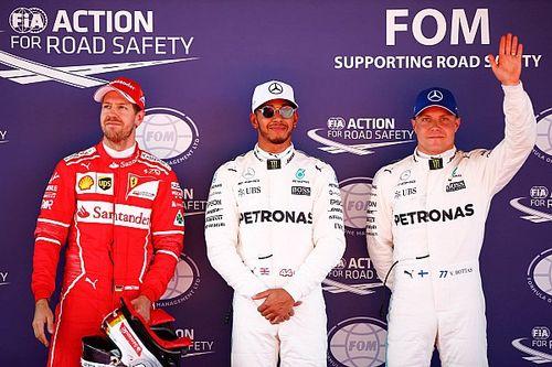 Duelo quente entre Mercedes e Ferrari; o sábado na Catalunha