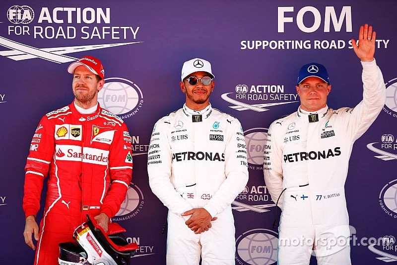 Spanish GP: Hamilton beats Vettel to pole by 0.051s