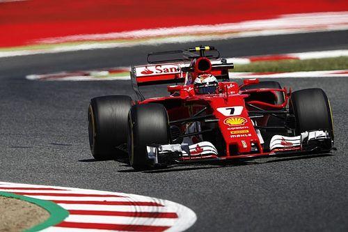GP Spanyol: Raikkonen tercepat, Ferrari 1-2 di FP3