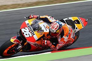 MotoGP Qualifiche Pedrosa nega la pole a Lorenzo a Barcellona, Rossi solo 13esimo